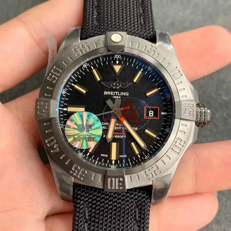 GF厂百年灵黑鸟侦察机v4钛金属褪色吗?做工如何?
