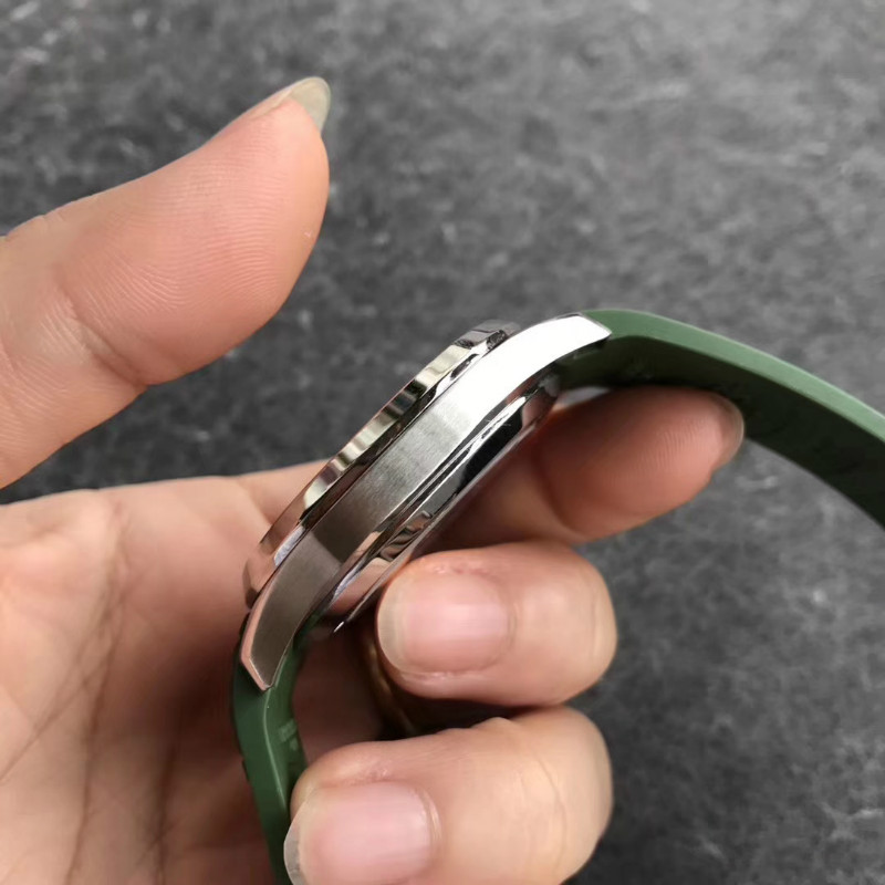 ZF厂百达翡丽绿手雷5168G对比评测,会不会一眼假?