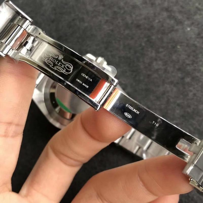 N厂V8劳力士格林尼治蓝黑圈GMT该如何鉴别?【揭秘】避免被坑!