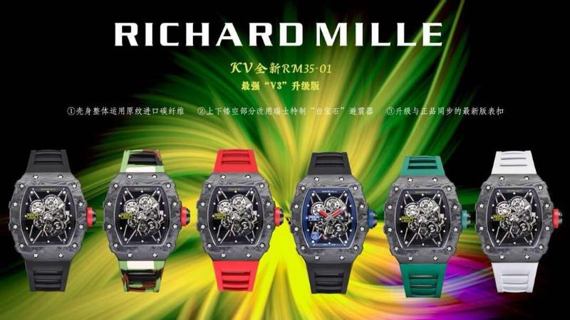 KV厂理查德米勒RM35是目前最好的复刻吗?是否值得入手?